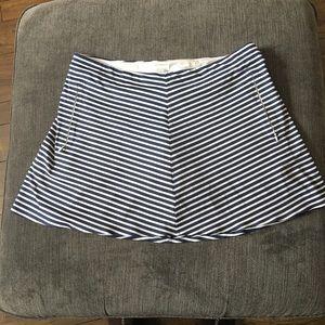 Nike Golf Skort Shorts Dri-Fit Striped